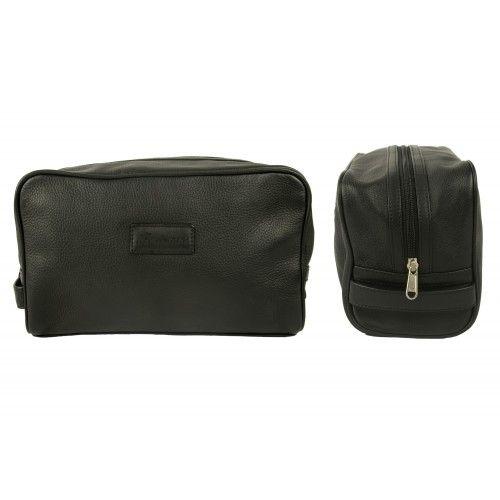 Kulturtasche aus Leder mit Reißverschluss Zerimar - 2
