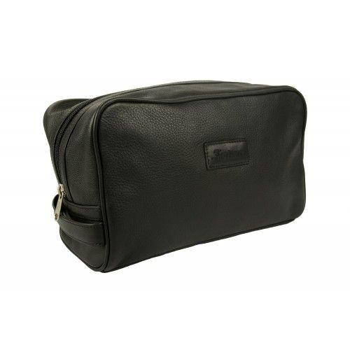 Kulturtasche aus Leder mit Reißverschluss Zerimar - 1