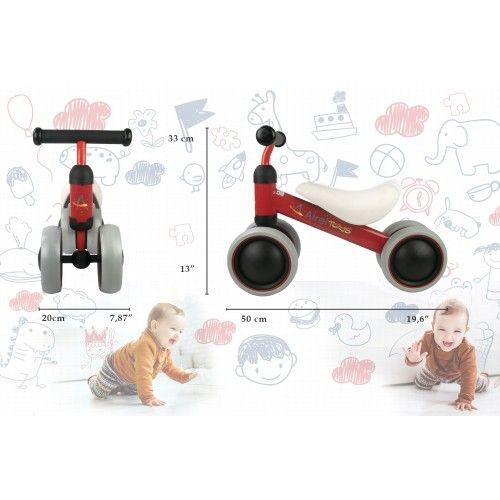 Pedalloses Dreirad für 0 bis 3 Jahre Airel - 2