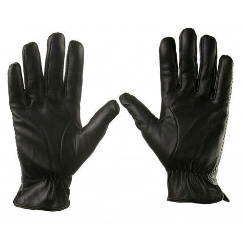 Handschuhe aus Leder und...