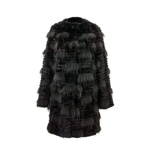 Langer Mantel des Waschbärkaninchens Zerimar - 1