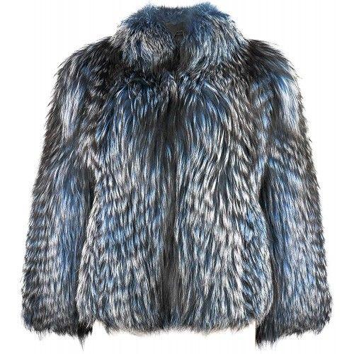Pelz DamenJacken Elegante DamenJacke aus echtem Fell Material Zerimar - 2