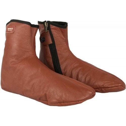 Hausschuhe Winter HausSchuhe Pantoffeln Leder Warme Zerimar - 1