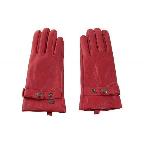 Winterlederhandschuhe für Damen mit verstellbarer Schlaufe und Knopf Zerimar - 1