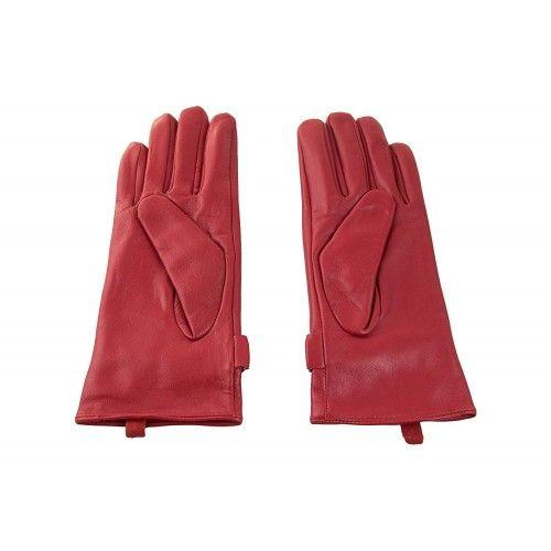 Winterlederhandschuhe für Damen mit verstellbarer Schlaufe und Knopf Zerimar - 2