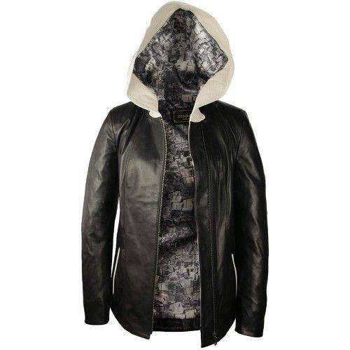 LederJacke Damen Jacke für...