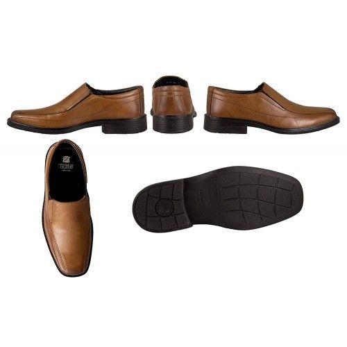 Klassische elegante Leder Schuhe Zerimar - 6
