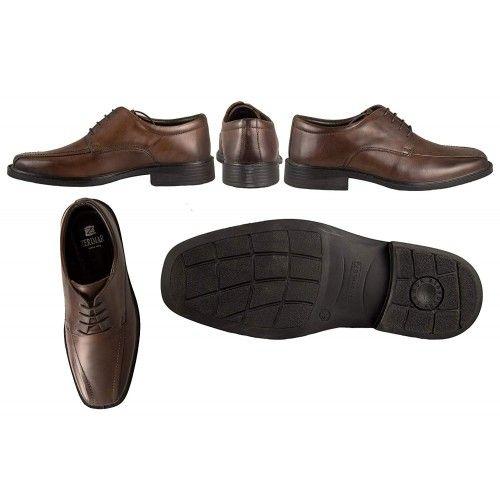 Klassische elegante Lederschuhe für Männer Zerimar - 2