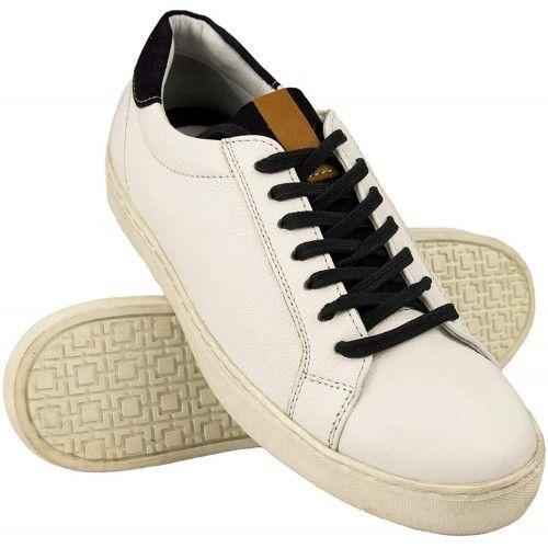 Leder Schuhe Herren Sneaker casual Zerimar - 3