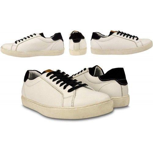 Leder Schuhe Herren Sneaker casual Zerimar - 4
