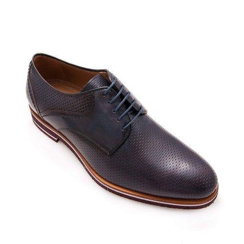 Männer Schuhe lässigen Stil Marineblau Zerimar - 1