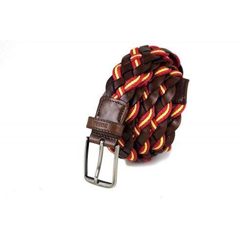 Geflochtener Ledergürtel mit 3,5 cm breiter Schnalle Zerimar - 1