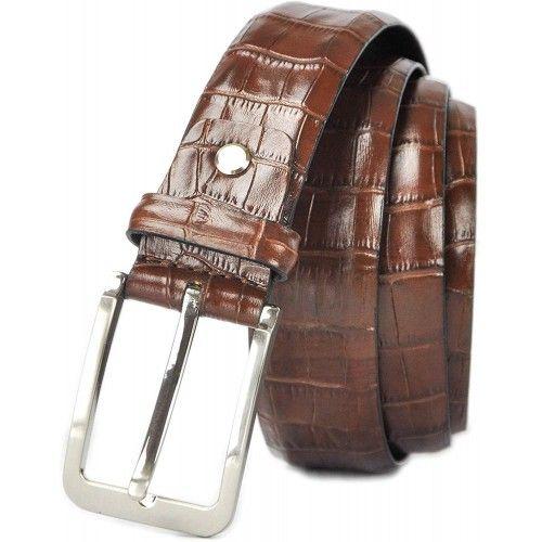 Ledergürtel aus echtem Leder Herren Gürtel weiches leder  4 cm Zerimar - 1