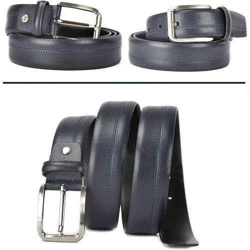 Ledergürtel aus echtem Leder Herren Gürtel ausweiches leder 4 cm. Zerimar - 2
