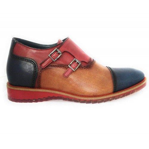 Boost-Schuhe für Männer mit Doppelschnalle made in Spain Zerimar - 2