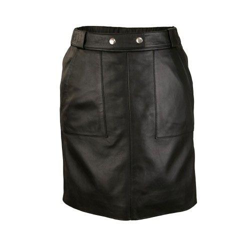 Minirock mit Taschen und Knöpfen in der Taille eingestellt Zerimar - 1