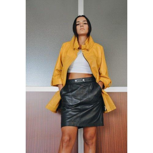 Minirock mit Taschen und Knöpfen in der Taille eingestellt Zerimar - 2