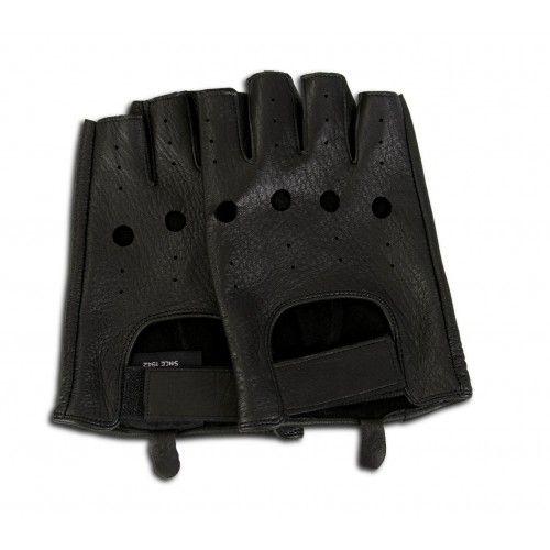 Fingerlose Lederhandschuhe für Fahrer Zerimar - 7
