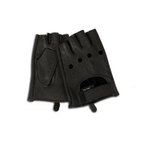 Fingerlose Lederhandschuhe für Fahrer Zerimar - 8