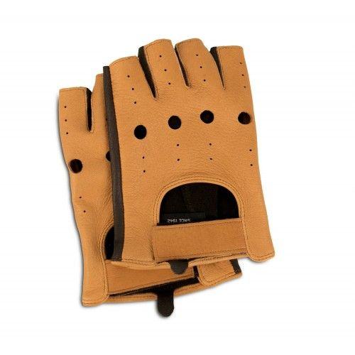 Fingerlose Lederhandschuhe...