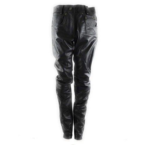 Lederhose für Damen mit fünf Taschen Kenrod - 1
