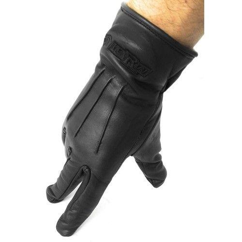 Warme Handschuhe aus Leder