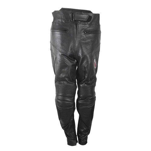 Leder Hose mit Motorradschutz