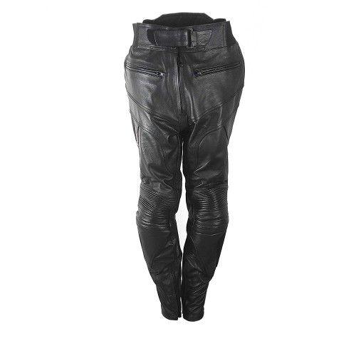 Lederhose mit Motorradschutz