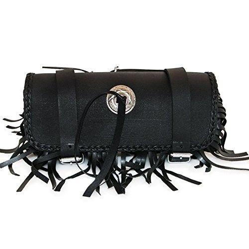 Werkzeughalterrolle für schwarze Ledermotorräder Kenrod - 1