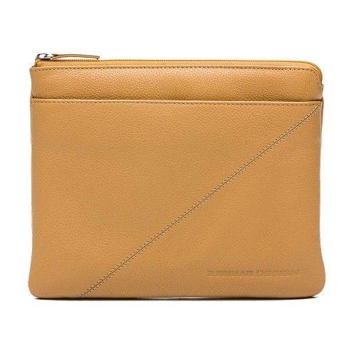 Tablet-Tasche und Dokumententasche aus Leder mit Reißverschluss 23x28 cm Zerimar - 1
