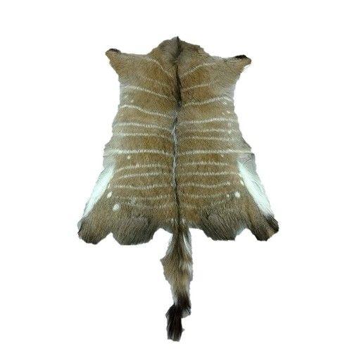Afrikanischer Nyala Lederteppich 90x75 cm Zerimar - 1