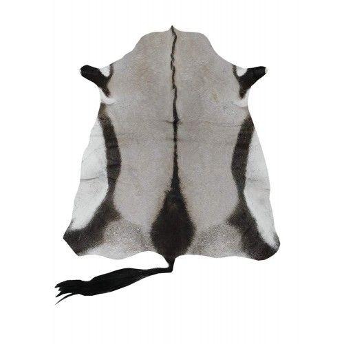 Natürlicher afrikanischer Oryx Lederteppich 145x110 cm Zerimar - 1