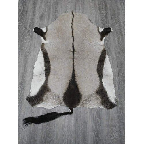 Natürlicher afrikanischer Oryx Lederteppich 145x110 cm Zerimar - 2