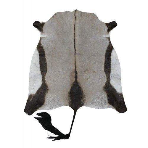 Natürlicher afrikanischer Oryx Lederteppich 150x125 cm Zerimar - 1