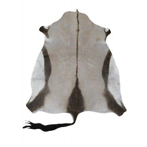 Teppich natürliche afrikanische Oryxhaut 160x120 cm Zerimar - 1