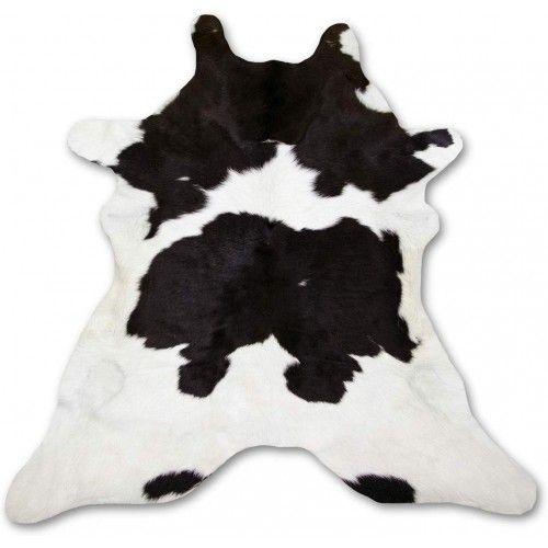 Kalb Teppich aus echtem Leder Maßnahmen: 110x95 cmm Zerimar - 1