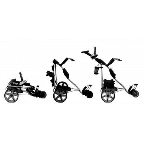 Zusammenklappbarer elektrischer Golfwagen mit 3 Rädern - Gel-Batterie Airel - 2