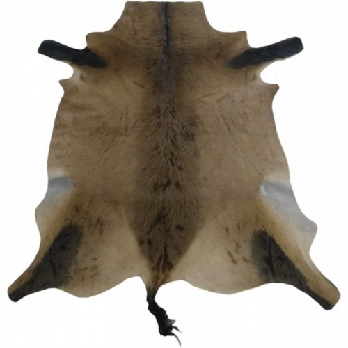 Hartebeest Lederteppich 150x120 cm Zerimar - 1
