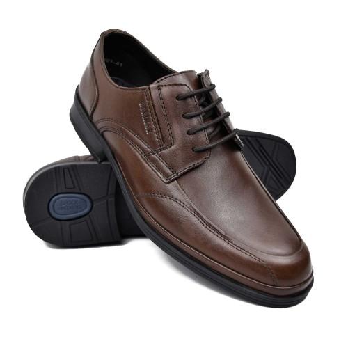 Herren-Schnürschuhe aus Leder