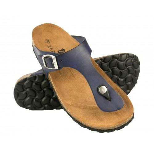 Flip-Flops aus Leder mit...
