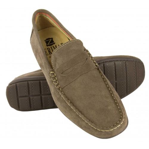 Loafer aus natürlichem...