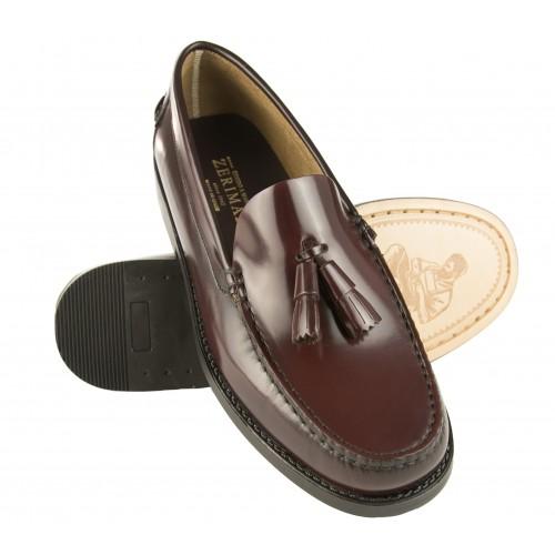 Herren-Loafer mit Quasten...